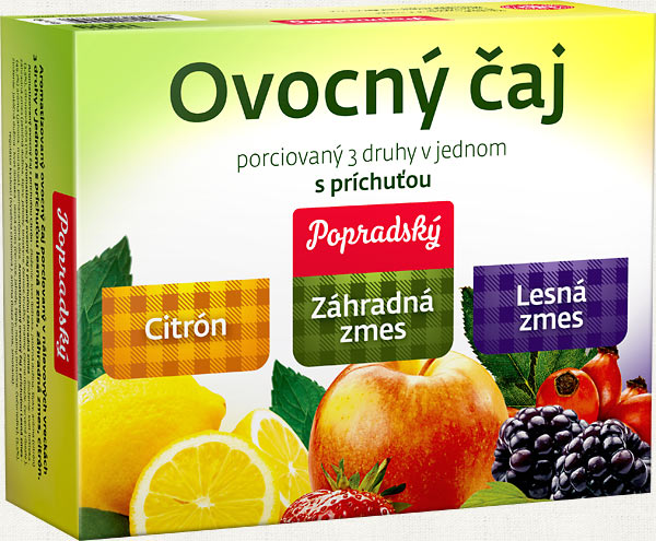 ovocny caj